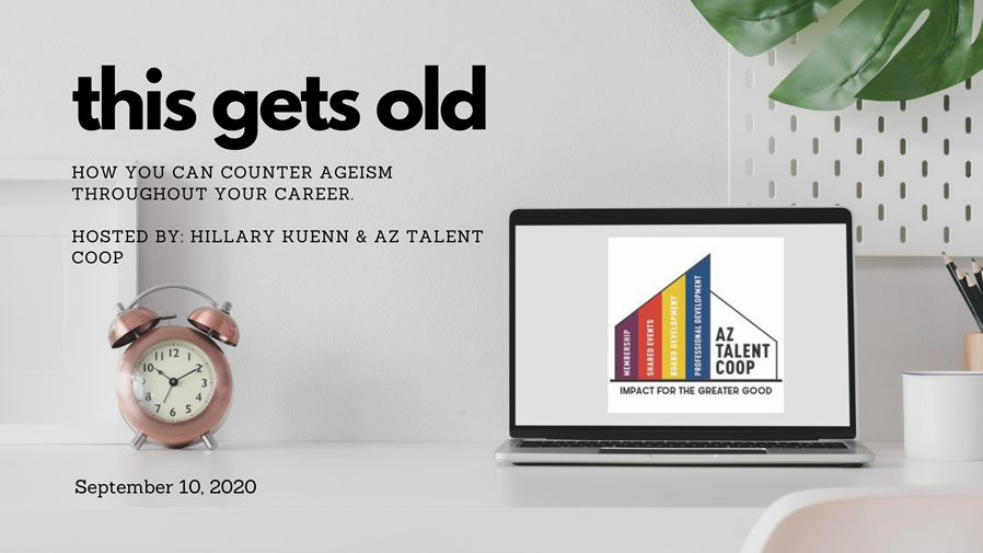 Ageism in the workplace webinar